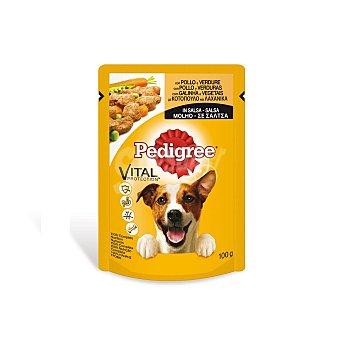 Pedigree Alimento perros adultos de pollo y verdura Bolsa 100 g