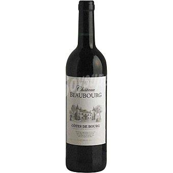 CHATEAU BEAUBOURG Vino tinto Côtes de Bourg Francia Botella 75 cl