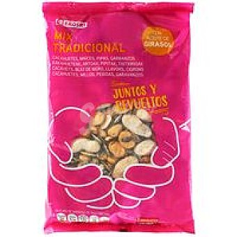 Eroski Mezcla de frutos secos básicos Bolsa 500 g