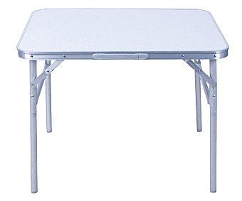 PROFILINE Mesa de aluminio para jardín, camping y playa, plegable y con altura ajustable, medidas: 90x60 centímetros 1 unidad