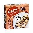 Crepes rellenos de chocolate belga congelados Caja 540 g (6 u) Hacendado