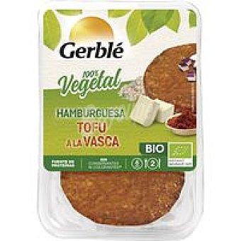 Gerblé Hamburguesa de tofu a la vasca Pack 2x75 g