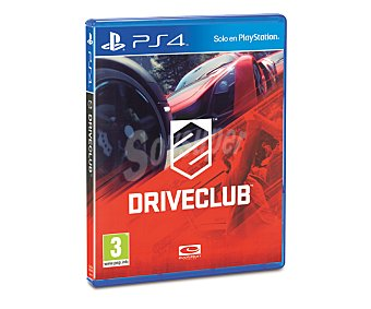 EVOLUTION Driveclub PS4 1u