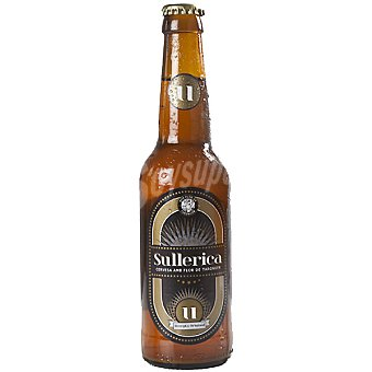 SULLERICA Recepta Original cerveza rubia de Mallorca  botella 33 cl