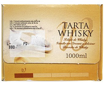 Menorquina Tarta al Whisky 900 Mililitros