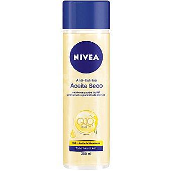 Nivea Aceite corporal seco anti-estrías para todo tipo de piel Q-10 Plus frasco 200 ml
