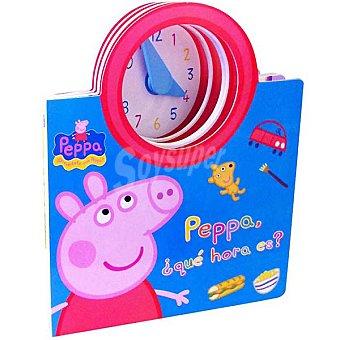 PEPPA PIG : Peppa ¿qué hora es? Primera infancia