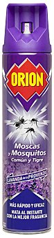 Orion Insecticida volador moscas y mosquitos comun y tigre lavanda spray 600 ml Spray 600 ml