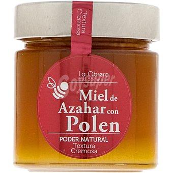 LA OBRERA DEL COLMENAR Miel de azahar con polen Tarro 300 g