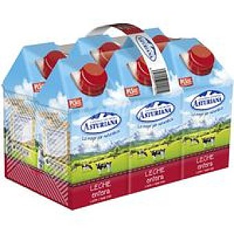 Central Lechera Asturiana Leche Entera Pack 6x50 cl