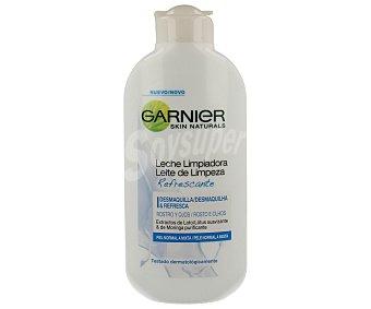 Garnier Leche limpiadora refrescante especial para pieles normales y mixtas Bote de 200 ml