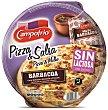 Pizza barbacoa carne, mozzarella y pimiento con salsa barbacoa sin lactosa Envase 350 g Campofrío