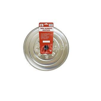Tapa de Aluminio 32cm Inox 1 ud