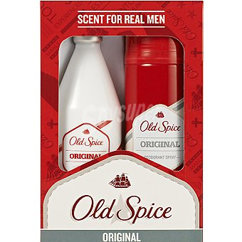 OLD SPICE Original eau de toilette masculina frasco 100 ml + desodorante spray 150 ml Frasco 100 ml
