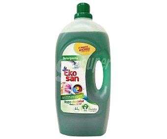EKOSAN Detergente gel para ropa de color 44 dosis (4 L)