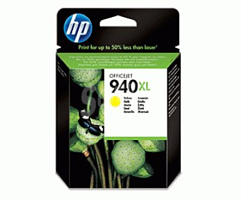 HP Cartuchos de Tinta 940XL Amarillo Nº 940XL Amarillo