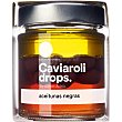 Drops aceitunas negras esféricas creada por Albert Adriá tarro 50 g tarro 50 g Caviaroli