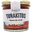 Migas de atún barbacoa Tunakitos 155 g Zallo