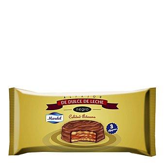 Mardel Alfajores dulces de leche Pack de 3x150 g