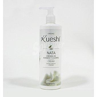 Kueshi Crema cuerpo y manos nata Kueshi 500 ml