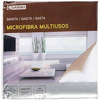 Eroski Bayeta de microfibra básica Pack 1 unid