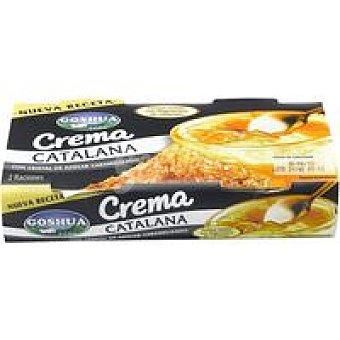 Goshua Crema catalana Pack 2x100 g