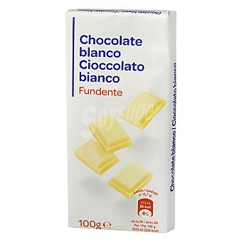 Carrefour Chocolate blanco 100 g