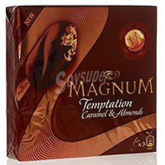 Frigo Magnun Temptation de caramelo Pack 3x80 ml