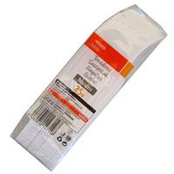 Eroski Tenedor blanco Paquete 25 unid