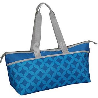 CASACTUAL Bolso Nevera de poliéster en color azul 13 litros
