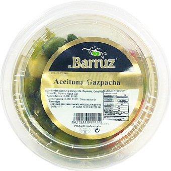 Barruz Aceitunas gazpacha aliñadas Envase 250 g neto escurrido