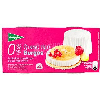 Aliada Queso fresco 0% M.G Pack 2 envase 250 g