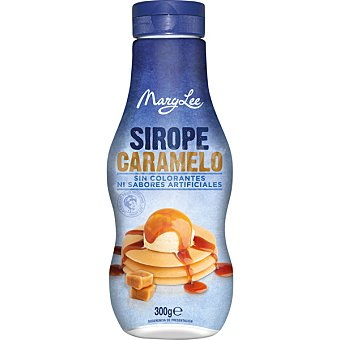 MARY LEE Sirope de caramelo sin colorantes  envase 300 g