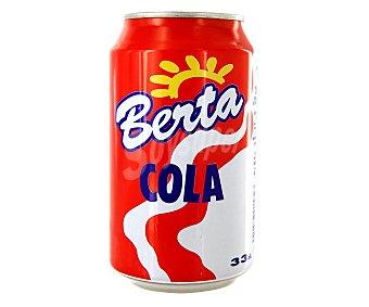 Berta Refresco de Cola Lata de 33 Centilitros