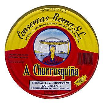 A Churrusquiña Sardinas en aceite de oliva 728 g