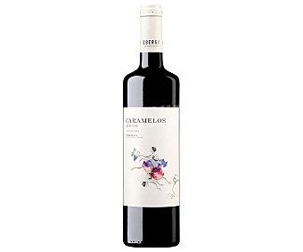 CARAMELOS Vino tinto con denominación de origen Somontano Botella de 75 cl