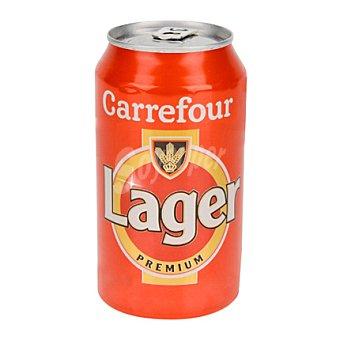 Carrefour Cerveza lager Lata de 33 cl