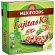 Fajitas kit Paquete 410 g Mexifoods