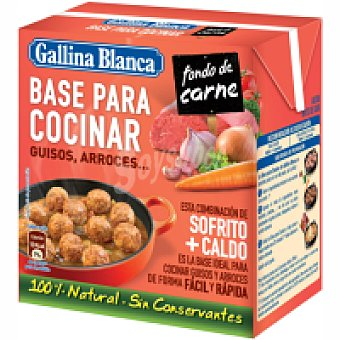 Gallina Blanca Base para cocinar carne Brik 523 ml