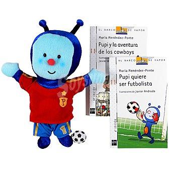 SM Pack Pupi Futbolista (María Menéndez-Ponte Cruzat) 1 Unidad