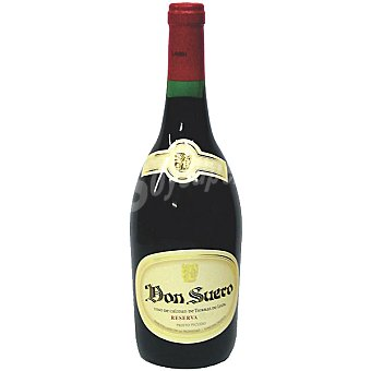 Don Suero Vino tinto reserva de la Tierra de Castilla y Leon botella 75 cl Botella 75 cl