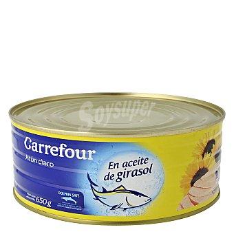 Carrefour Atún Claro en Aceite de girasol 650 g