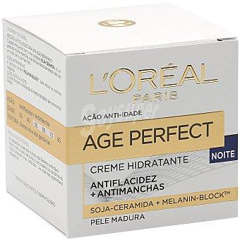 L'Oréal Crema hidratante de noche para pieles maduras Tarro 50 ml