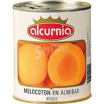 Alcurnia Melocotón en almíbar Lata 480 g neto escurrido