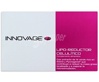 INNOVAGE Lipo-reductor celulítico, complemento alimenticio 40 C
