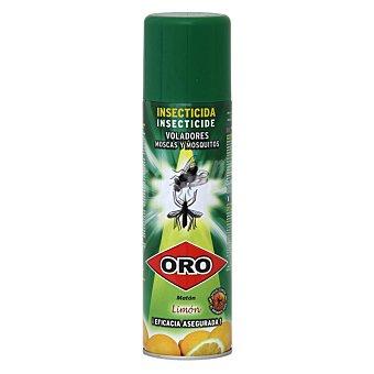 Oro Insecticida volador para moscas y mosquitos limón Spray 650 ml