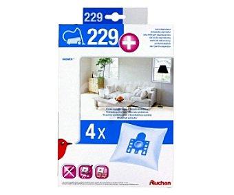 Auchan Bolsa Aspiadora 4 unidades