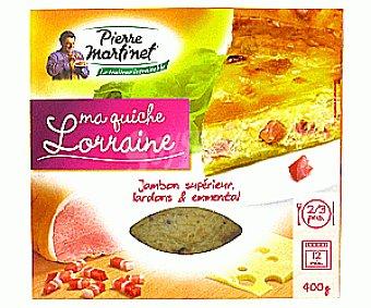 PIERRE MARTINET Quiche Lorraine 400g