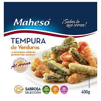 Maheso Tempura de verduras Bolsa 400 g