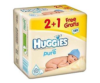Huggies Toallitas para bebé 3 paquetes de 64 unidades